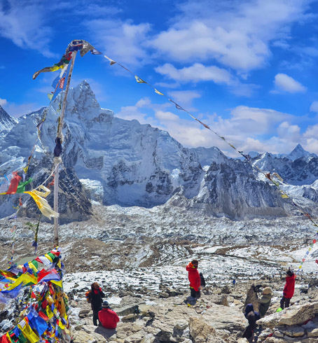 Nepal: Trek to Everest Base Camp stamp